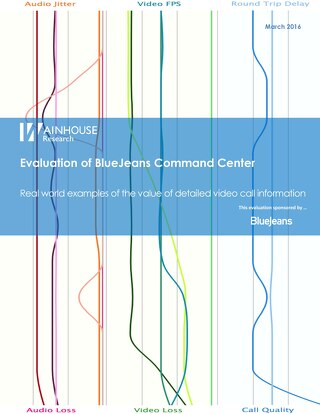 Evaluation of BlueJeans Command Center (Analytics)