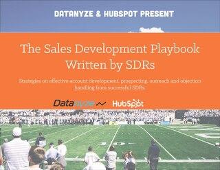 The Sales Development Playbook Written by SDRs