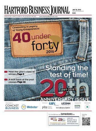 40 Under Forty 2016 - 20th Anniversary — July 25, 2016
