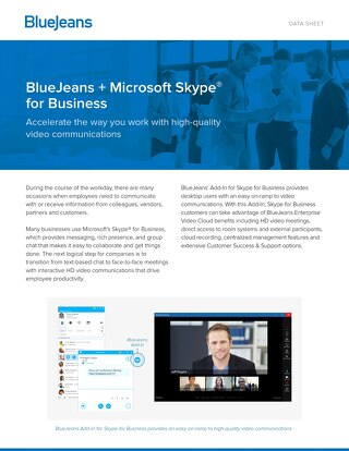 For Skype for Business