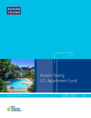 Apartment Fund Annual Report Constant Contact