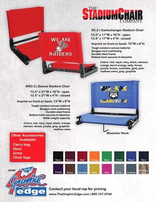 Stadium Chair & Accessories  - RH852