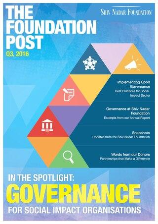 The Foundation Post Q3, 2016 - Shiv Nadar Foundation Newsletter
