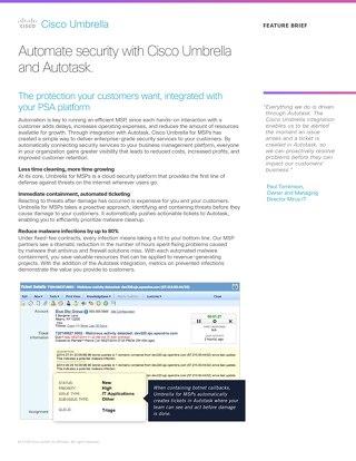 Autotask Integration