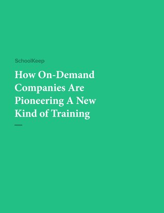 How On-Demand Companies Are Pioneering A New Kind of Training