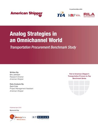 2016 Transportation Procurement Benchmark Study