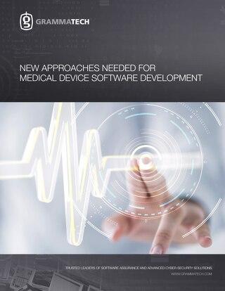 New Approaches Needed for Medical Device Software Development