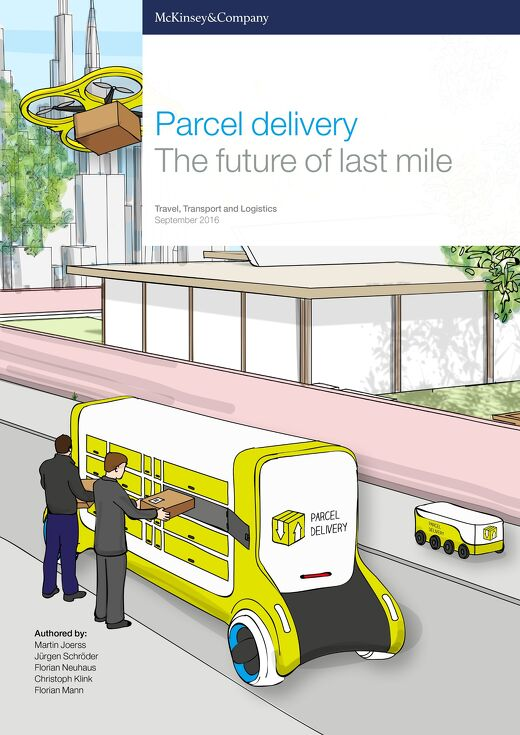 Parcel Delivery - The future of last mile - 2016