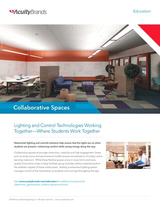 Lighting and Control Technologies Working Together: Collaborative Spaces Solution Guide
