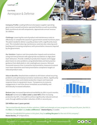 Aerospace & Defense Case Study