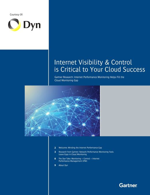 Internet Visibility & Control is Critical to Your Cloud Success