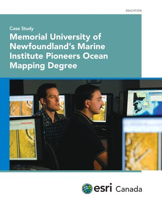Memorial University of Newfoundland's Marine Institute Pioneers Ocean Mapping Degree