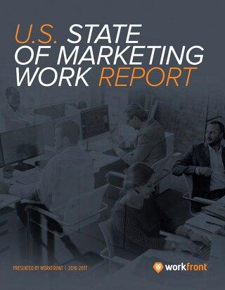2016-17 U.S. State of Marketing Work Report
