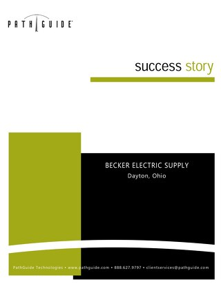 Latitude WMS Helps Drives Sales Growth -  Becker Electric