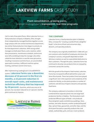 Lakeview Farms Case Study