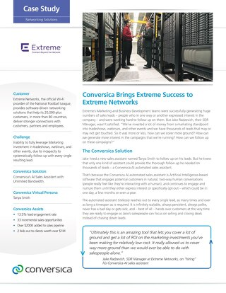 Extreme Networks case study