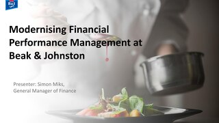 Beak & Johnston Case Study Sydney Finance Summit