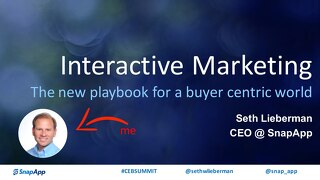 Seth Lieberman CEB: Interactive Marketing, The new playbook for a buyer centric world