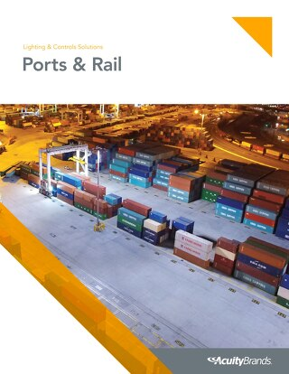 Ports and Rail Lighting & Controls Solutions