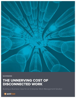 The Unnerving Cost of Disconnected Work: Building a Business Case for an Enterprise Work Management Solution
