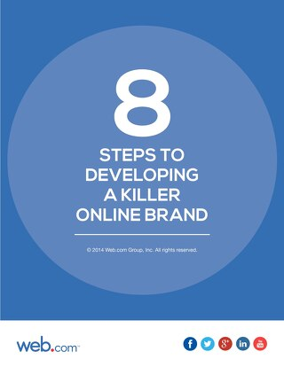 8 Steps to Develop a Killer Online Brand