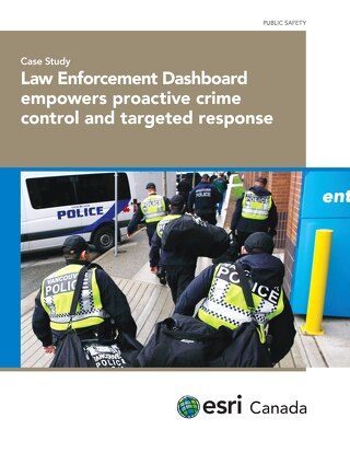 Law Enforcement Dashboard empowers proactive crime control and targeted response