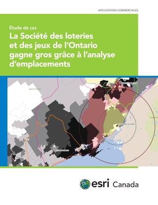 La Société des loteries et des jeux de l'Ontario gagne gros grâce à l'analyse d'emplacements