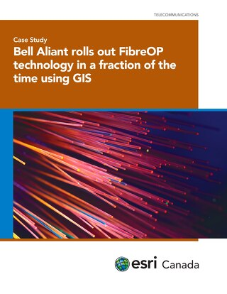 Bell Aliant Rolls-out FibreOP Technology in a Fraction of the Time Using GIS
