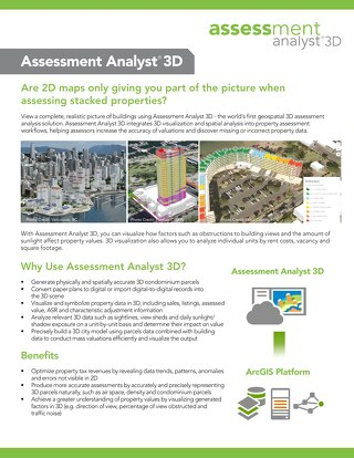 Assessment Analyst 3D