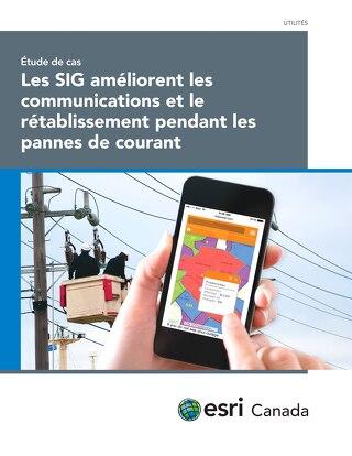 Les SIG améliorent les communications et le rétablissement pendant les pannes de courant