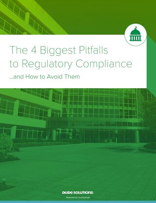 The 4 Biggest Pitfalls to Regulatory Compliance Whitepaper