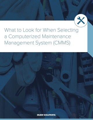What to Look for When Selecting a CMMS Whitepaper