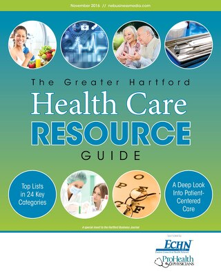 The Greater Hartford Health Care Resource Guide November, 2016