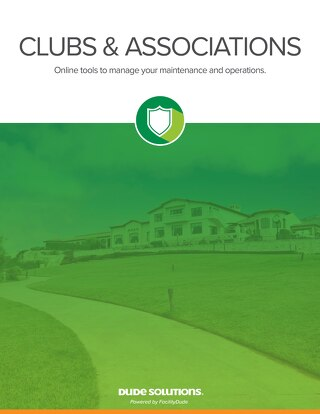 Clubs & Associations Brochure