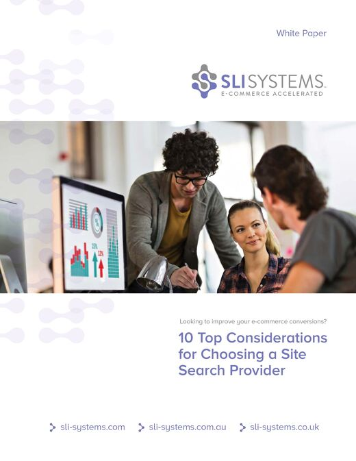 10 Top Considerations for Choosing a Site Search Provider