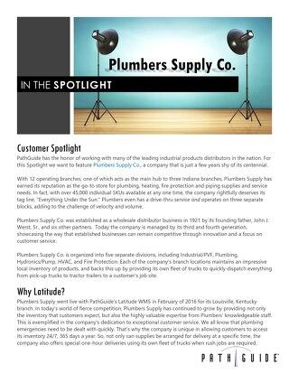 Plumbers Supply Co.