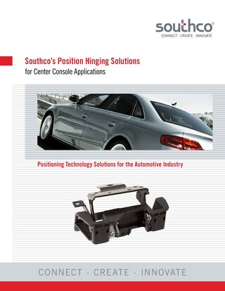 Position Hinging Solutions for Center Consoles