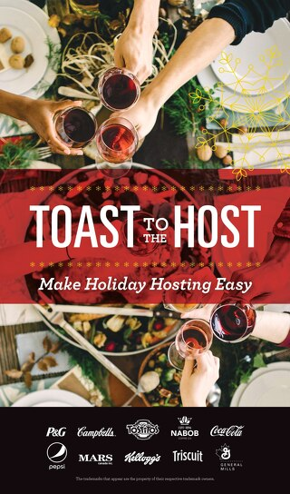 Toast to the Host