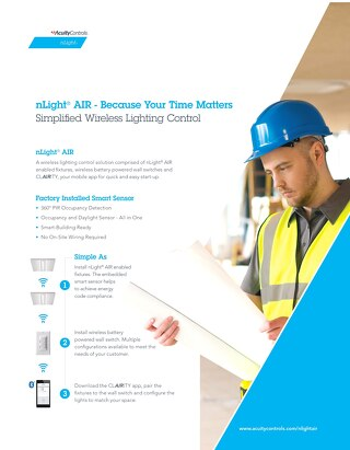 nLight Air Contractor Flyer