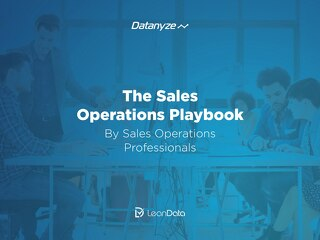 The Sales Operations Playbook by Sales Operations Professionals