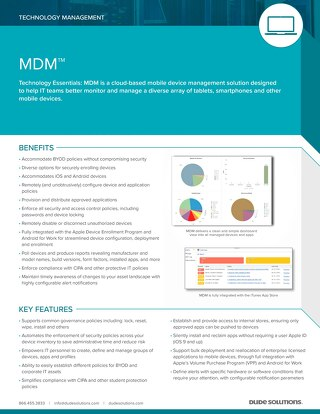 MDM Datasheet
