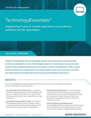 TechnologyEssentials Datasheet