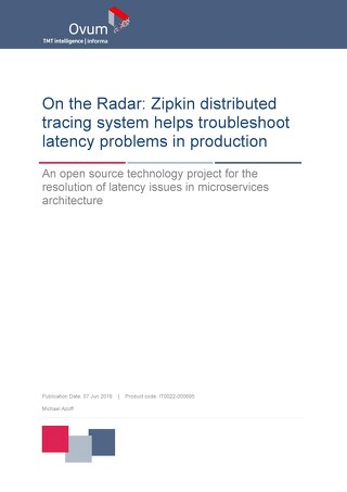 Zipkin Distributed Tracing System Helps Troubleshoot Latency Problems in Production