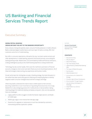 US Banking and Financial Services Trends Report