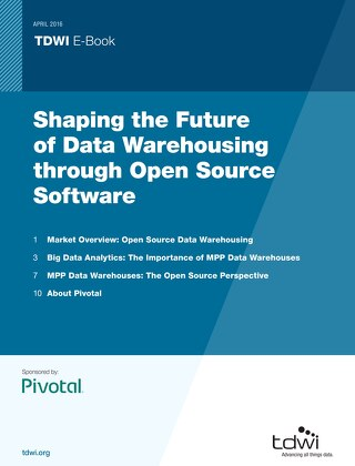 Shaping the Future of Data Warehousing through Open Source Software