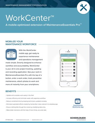 Work Center for Education Datasheet