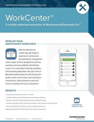 Work Center for Education Datasheet