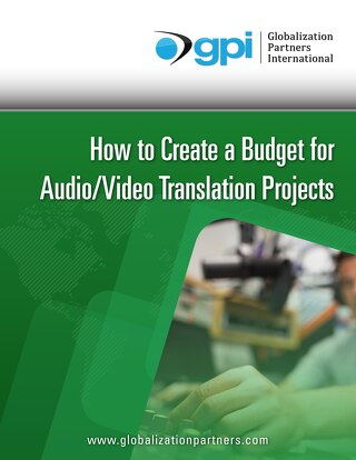 How to Budget for a Audio-Video Translation Project