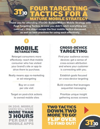 Mobile Targeting Activation Sheet