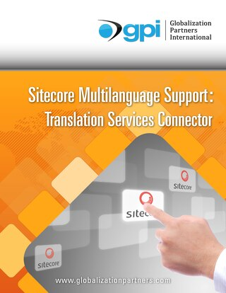 Sitecore Multilanguage Support: Translation Services Connector